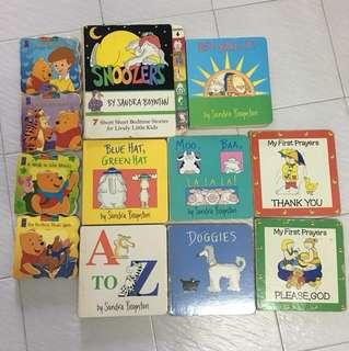 Toddler books 12 books for $2.40