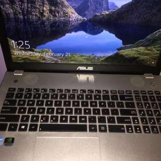 Asus N56 i7 8gb 1tb nvidia gtx