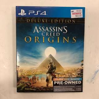 PS4 PREOWNED ASSASSIN'S CREED ORIGINS