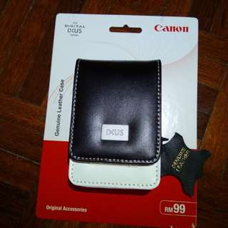 Canon Ixus Genuine Leather Case