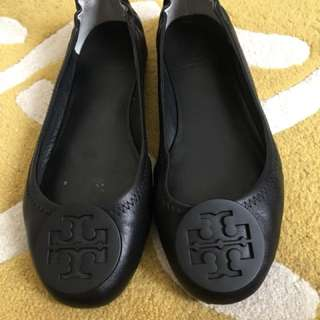 Tory Burch Travel leather ballet flat