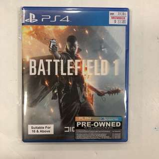 PS4 PREOWNED BATTLEFIELD 1