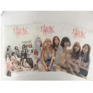 Girls' Generation (SNSD) 2011 Official Clear File Folder