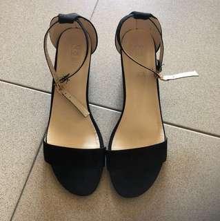 Minimalistic Black Block Heels