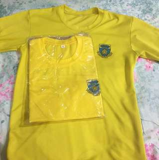 Crescent Girls' PE shirt