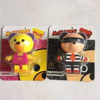 McDonald's toys (set of 2)