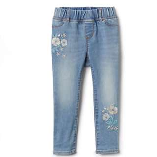 GAP GIRL SUPERDENIM FLOWER JEGGING