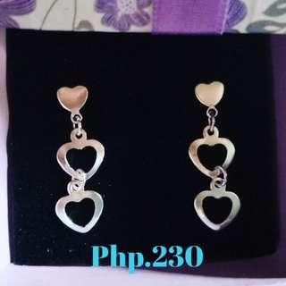 Silver Earrings (Dangling Stud)