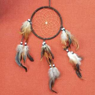 NEW ZEALAND DREAM CATCHER (BROWN)