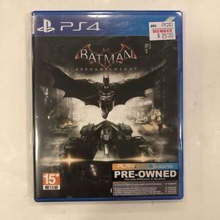 PS4 PREOWNED BATMAN ARKHAM KNIGHT