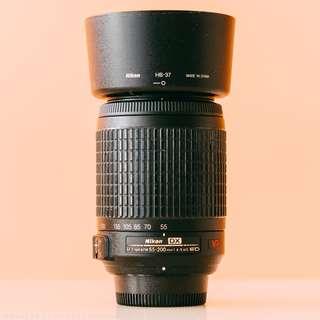 Nikon 55-200mm f/4-5.6 AF-S VR DX Lens