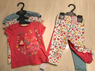 Mothercare clothes 6-9 months 3 pairs
