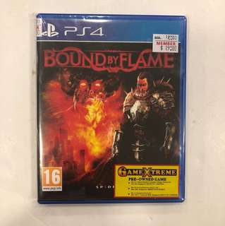 PS4 PREOWNED BOUND BY FLAME