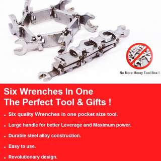 6 in 1 wrench