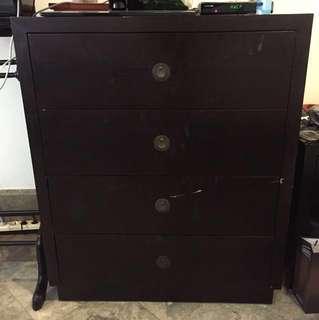 Vinoti Living drawer 4 laci full kayu