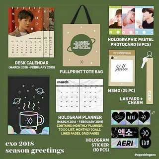 EXO Season Greetings (by my supplier)