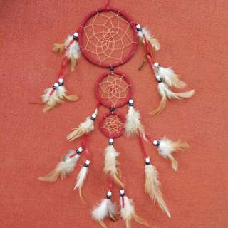 NEW ZEALAND DREAM CATCHER (RED)