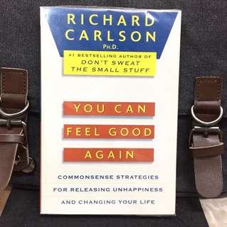 "# Highly Recommended《New Book Condition + Changing Your Thinking Changes Your Life Is Truly ""One Thought Away""》Richard Carlson - YOU CAN FEEL GOOD AGAIN : Common-Sense Therapy for Releasing Depression and Changing Your Life"
