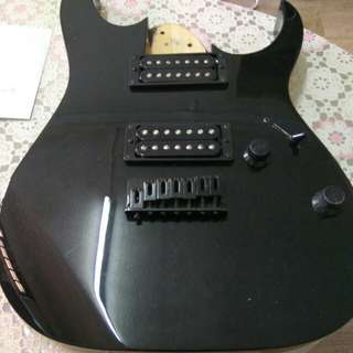 Ibanez GRG7221 body+electronics