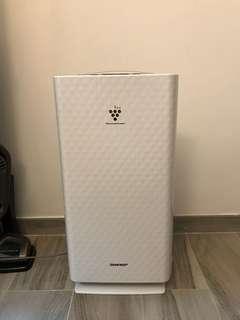 SHARP 空氣清新機(白色)