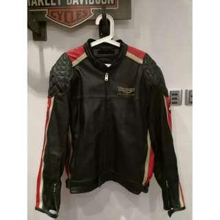 Triumph Leather Jacket Size 58