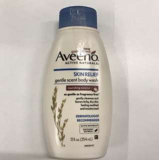 Aveeno gentle scent body waah