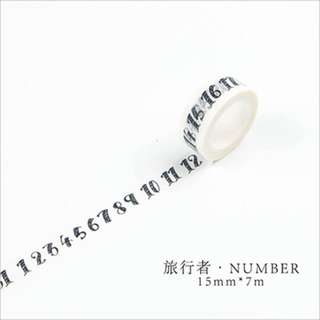 Washi Tape (Date) (Ref No.: 113)