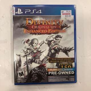 PS4 PREOWNED DIVINITY