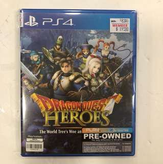 PS4 PREOWNED DRAGON QUEST HEROES