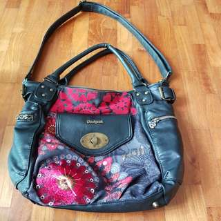 Desigual shoulder hand bag