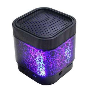 A7 Portable wireless Bluetooth speaker with led light