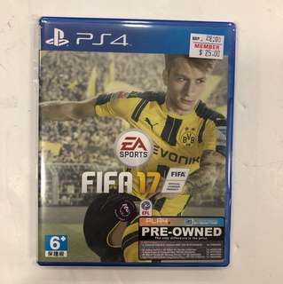 PS4 PREOWNED FIFA 17