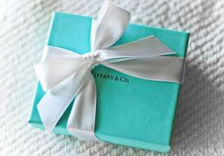 Brand new Tiffany key sterling silver pendant/necklace with box