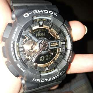 CASIO G-SHOCK BLACK GOLD