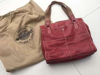 Leather bag 💼