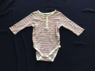 3-6 Months Long Sleeve Rompers