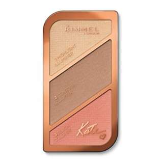 Kate Moss Contour Kit Shade 002 Coral Glow