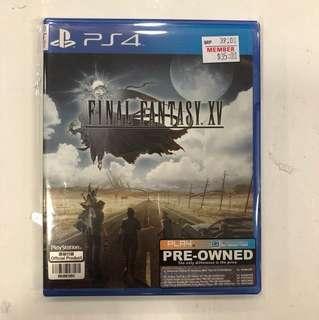 PS4 PREOWNED FINAL FANTASY XV