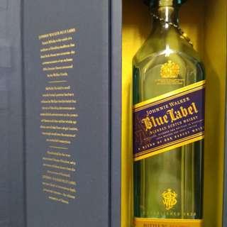 Blue label 吉樽吉盒,盒略殘。完美主義者勿入