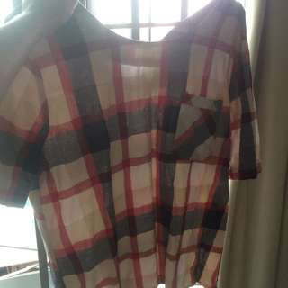 Burberry Pattern Shirt