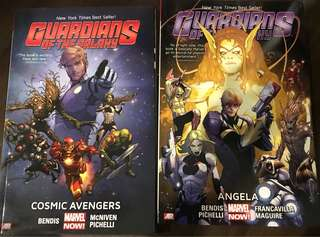 Guardians of the Galaxy Books 1&2
