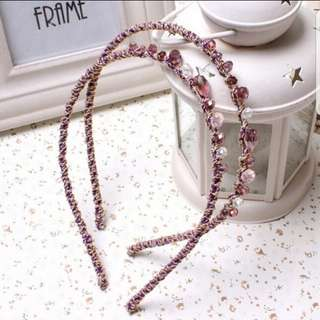 ❤INSTOCK❤ Woman's Beautiful Colourful Crystal Hairband