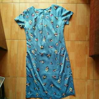 dress blue lucu