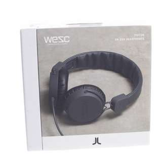 Authentic WeSC PISTON On Ear Head Phones with Handsfree Microphone