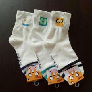 Adventure Time Long Sock Set (3 for $10)