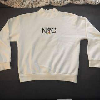 Mickey Mouse NYC high neck pull over/jumper