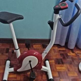 Stationary bike for exercises