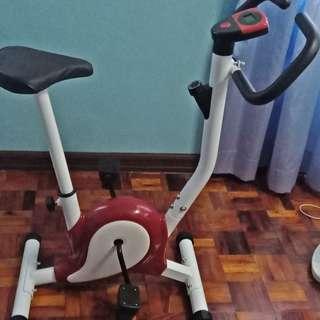 Stationary bike for exercises