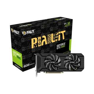 PALIT GTX 1060 6GB DUAL NVIDIA GEFORCE GTX10606GB GTX1060