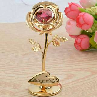 *FREE DELIVERY to WM only / Pre order 15-18 days* 24k gold rose each as shown design/color. Free delivery is applied for this item.
